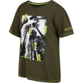 Regatta Bosley T-Shirt Enfant, ivy green